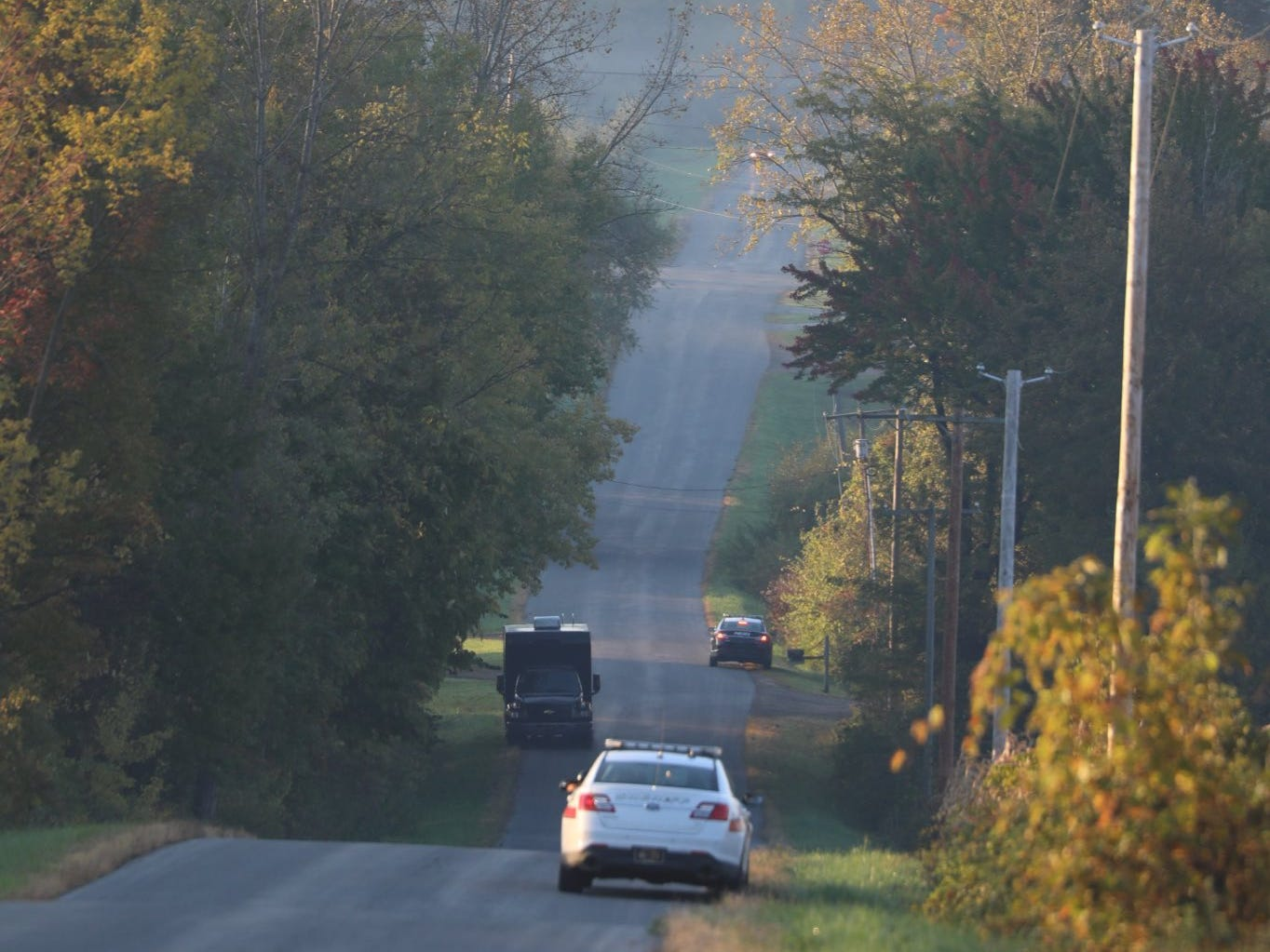 Several agencies help in the search for the shooter in the Sodus double homicide.