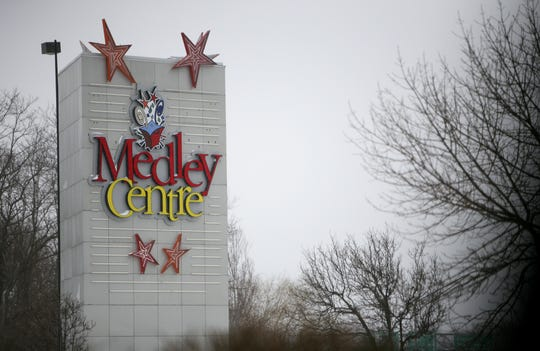 Medley Center in Irondequoit, considered as the site for a performing arts center in 2009 and 2010.