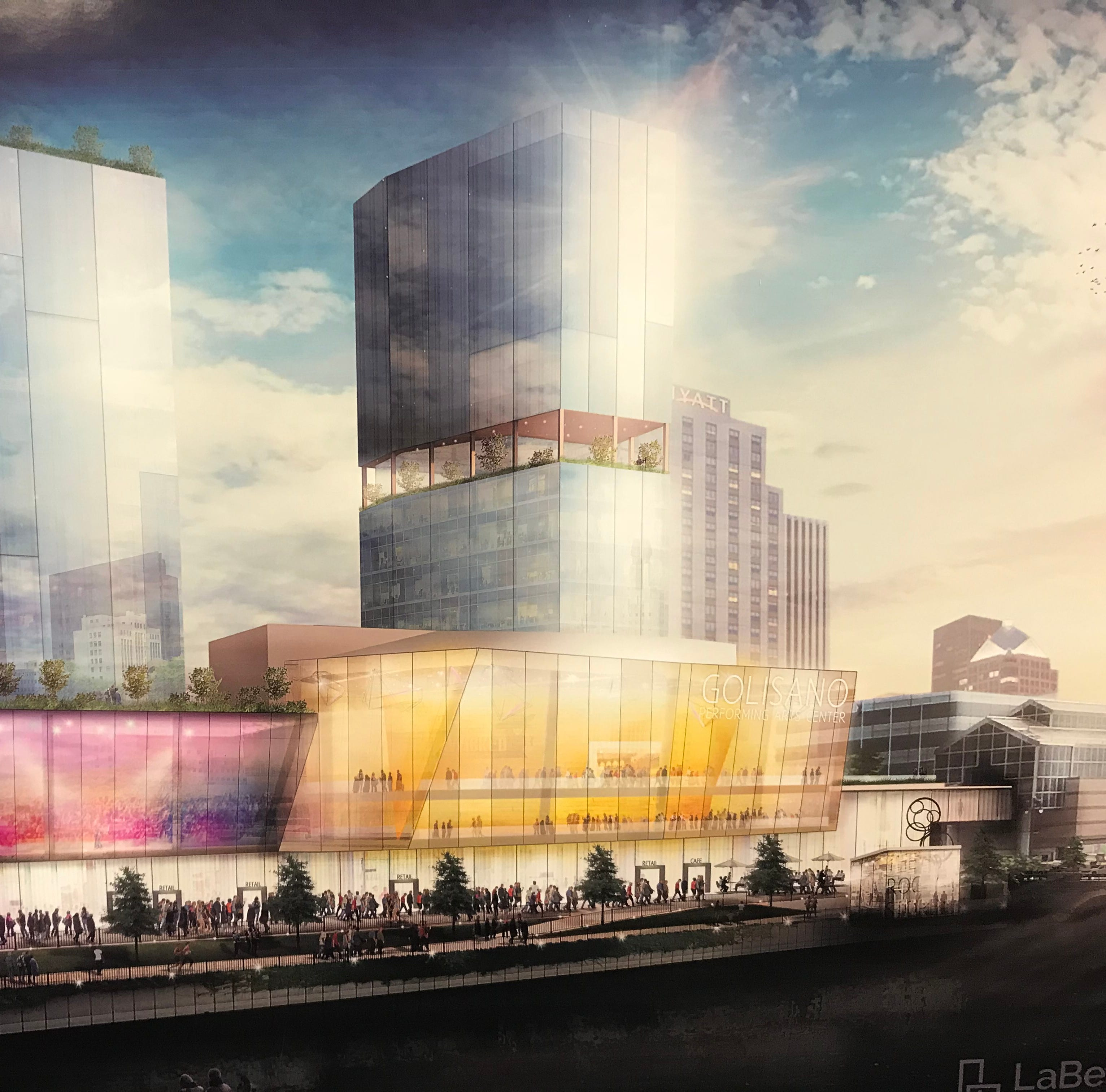 Proposed riverside theater site part of $250M high-rise hotel and retail complex