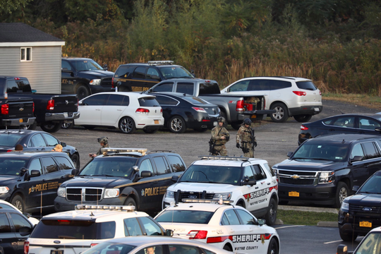 Numerous police agencies involved in Sodus search.