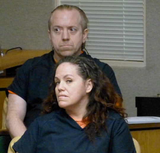 Shanna and Curtis Culver appeared Tuesday, Oct. 23, 2018, in Shasta County Superior Court to set their preliminary hearing date.