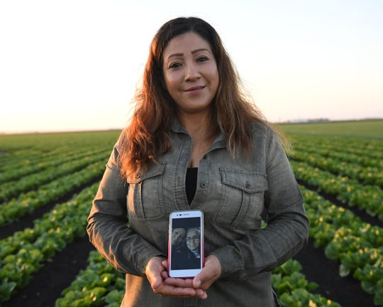 After more than 15 years being separated, Maria Ramirez was finally able to travel back to her hometown in Mexico to reunite with her mother. She doesn't have any photos of her and her mother, other than the selfies she took on her cell phone.