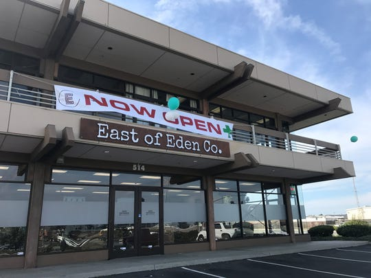 A second marijuana storefront, East of Eden Cannabis Co., has opened in Salinas