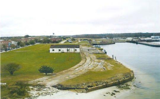 Cape Charles Harbor.