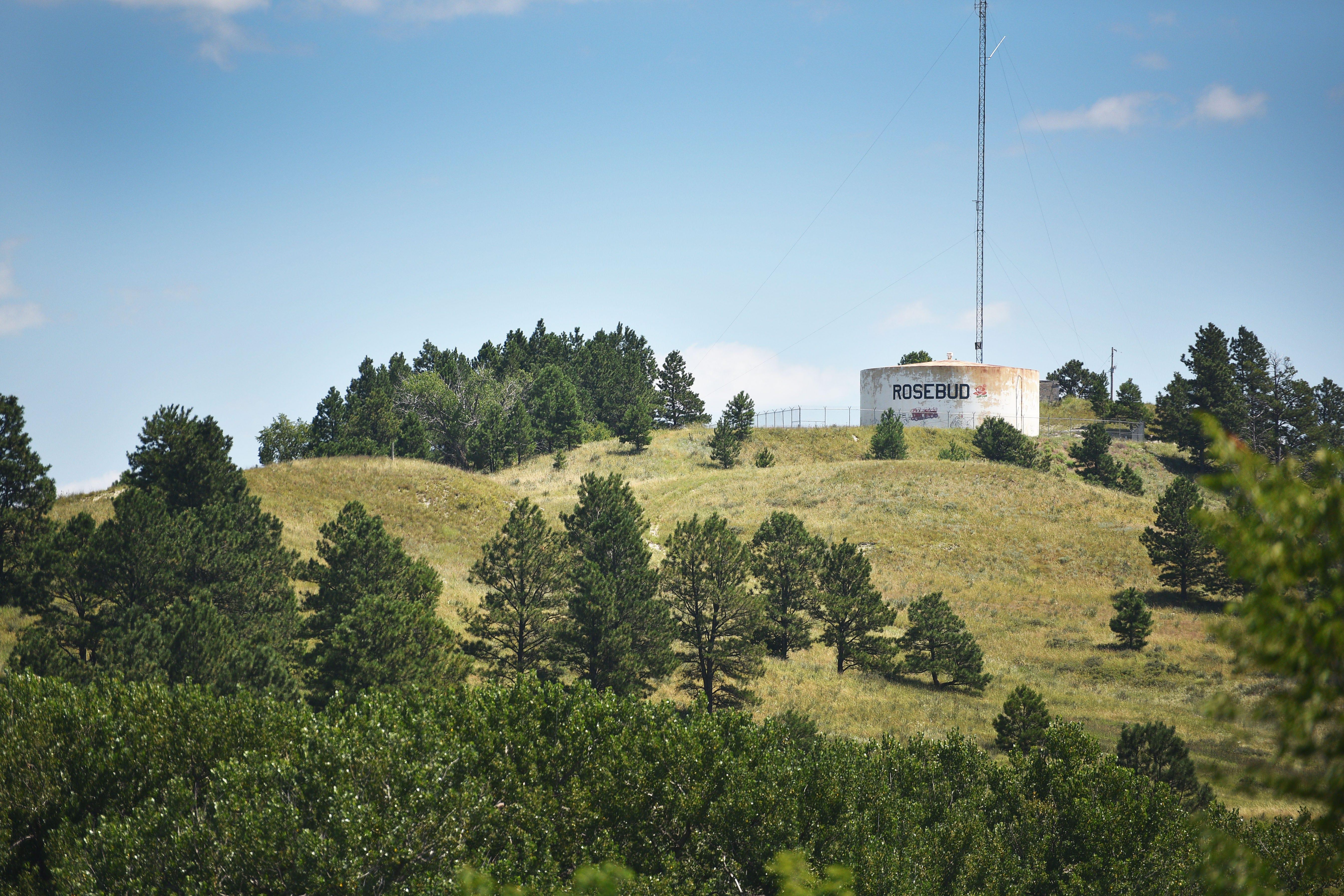 Rosebud reservation Tuesday, July 31, in Rosebud.
