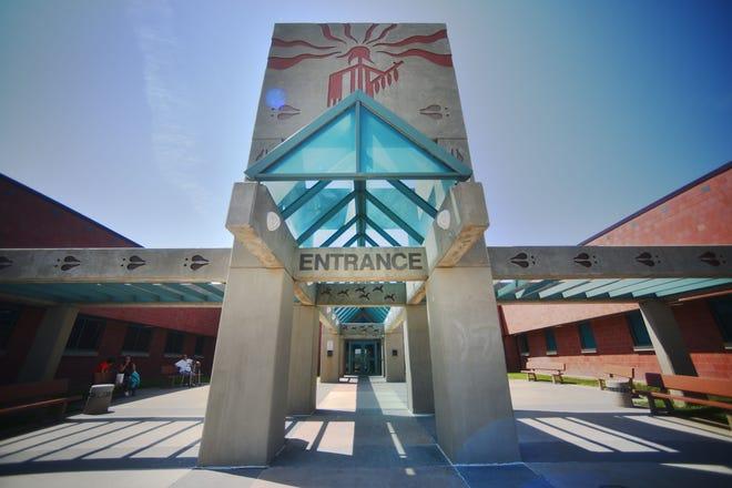 Pine Ridge Hospital Wednesday, Aug. 1, in Pine Ridge.