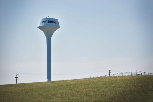 Pine Ridge Wednesday, Aug. 1, in Pine Ridge.