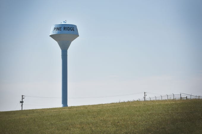 Pine Ridge Wednesday, Aug. 1, in Pine Ridge.