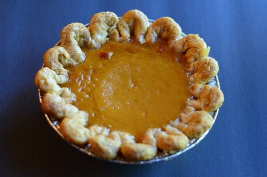 The sweet potato pumpkin pies marries two traditional flavors into an excellent dessert. This is one of the best pumpkin pies I've ever sampled. The texture is velvety.