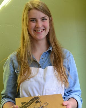 Eleanor Taylor, 24, owns Prairie Pie, and sells amazing pies for Thanksgiving. She is taking holiday orders now.