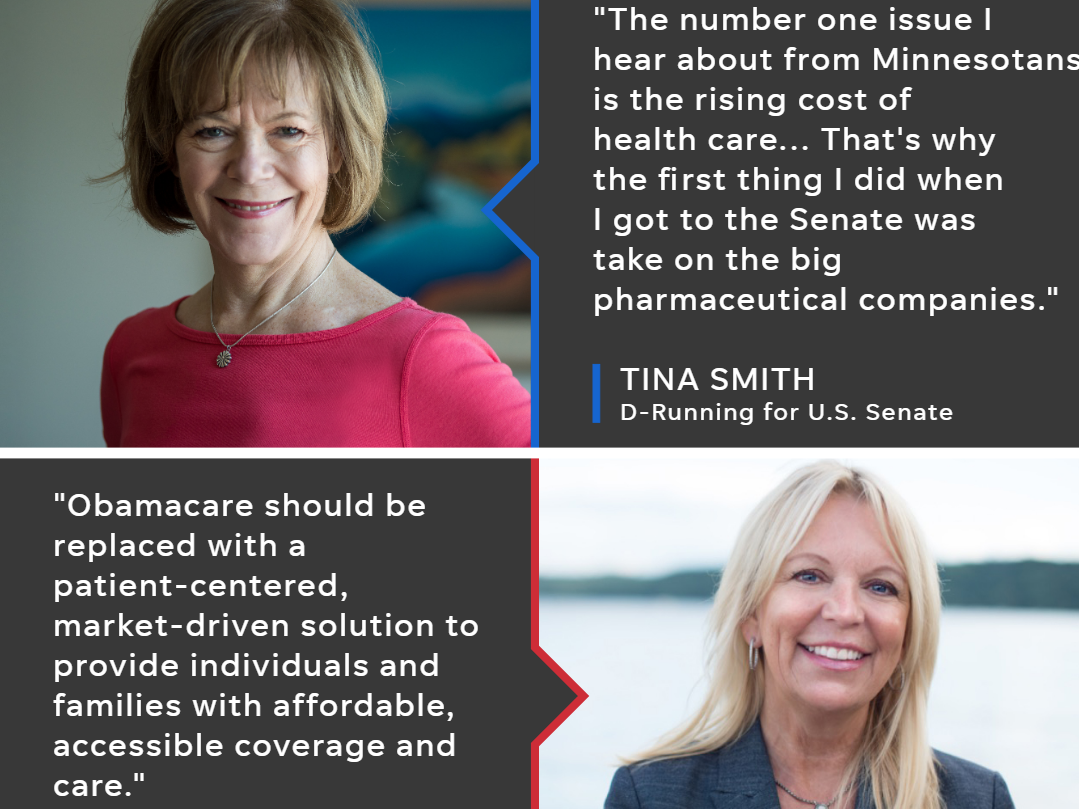 Smith v. Housley: U.S. Senate candidates on healthcare, immigration and the economy