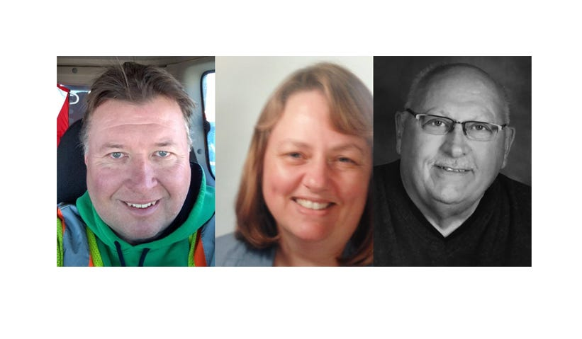 Jack Brosh, Rosalie Musachio and Gary Swanson are running for Foley City Council.