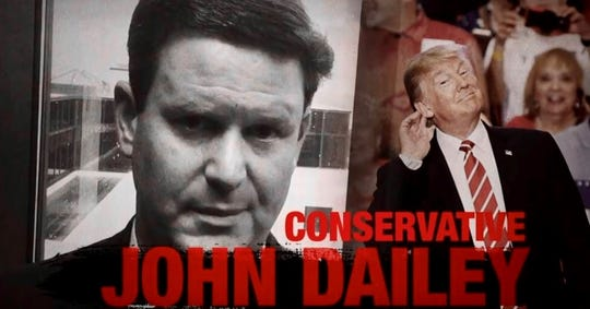 A political action committee supporting Dustin Daniels for mayor is attacking his opponent, Leon County Commissioner John Dailey.