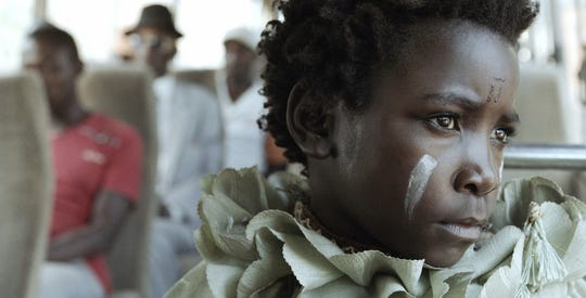 """Maggie Mulubwa plays an orphan in """"I Am Not a Witch,"""" opening Friday."""