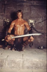 "Marc Singer (shown here) will answer questions after a screening of his cult classic ""The Beastmaster"" (1982) on Thursday at CMX Fallschase."