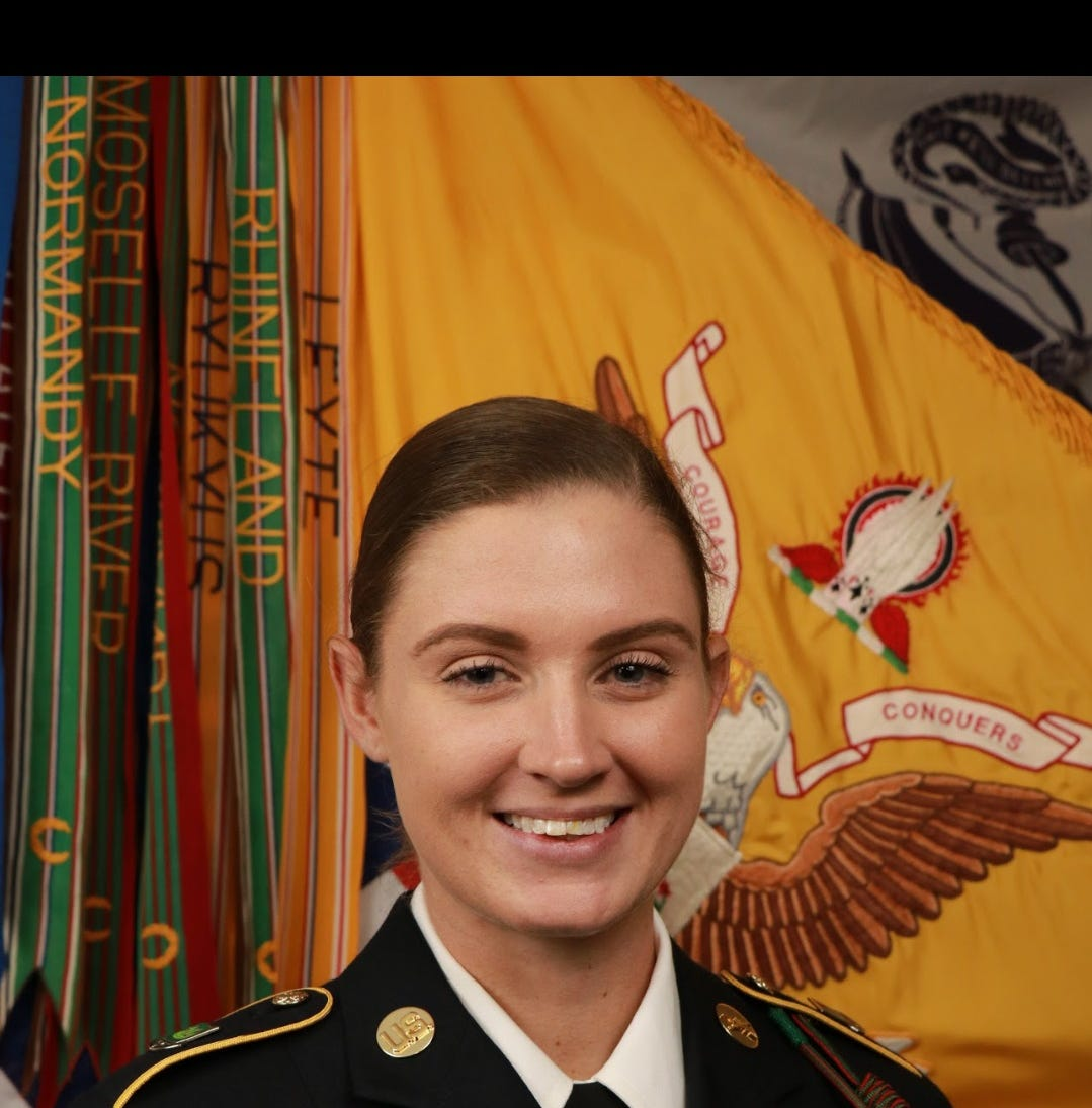 Army recruit becomes first woman from Indian River County to join combat unit