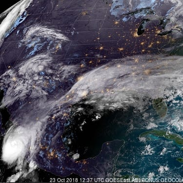 Hurricane Willa heading toward Mexico as powerful category 4 storm; system in Atlantic could develop