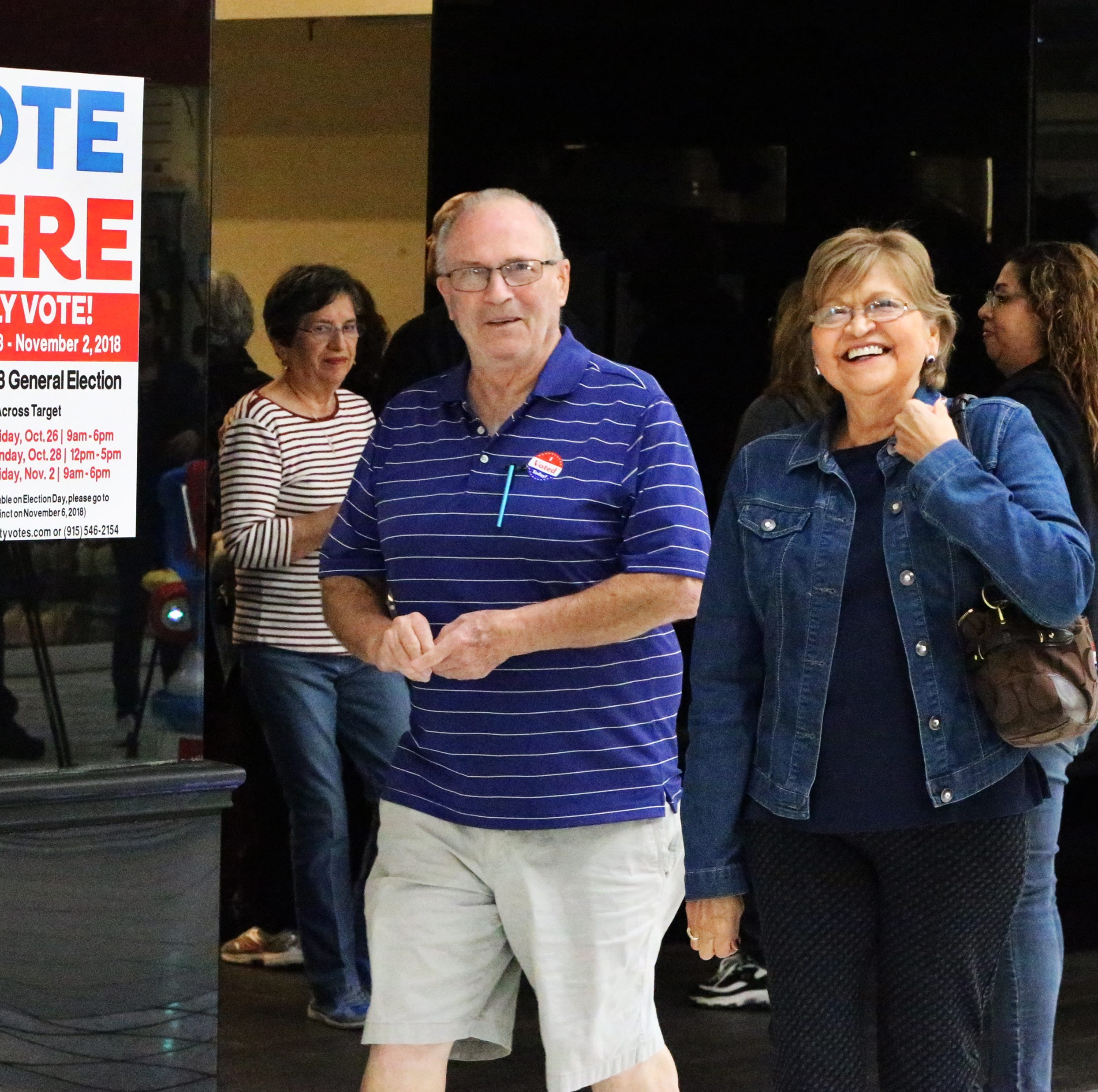 Texas turnout huge as early voting opens; El Paso, other counties hit records
