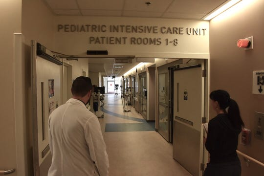 An eight-bed pediatric intensive care unit will open Monday at Ventura County Medical Center.