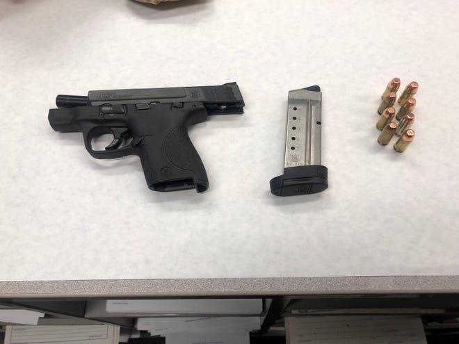 Firearms evidence seized by Oxnard police.