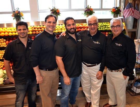 The DeCicco & Sons family, from left: Chris DeCicco, John DeCicco Jr., Joe DeCicco Jr., Joe DeCicco Sr. and John DeCicco Sr.