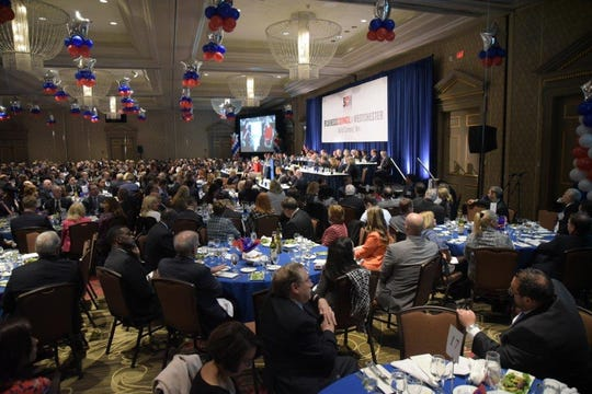 Business Council of Westchester annual dinner held Monday, October 23, 2018