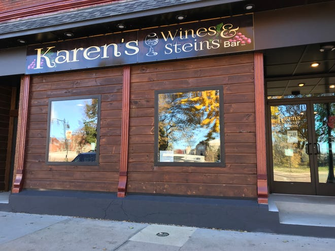 Karen's Wines & Steins, 160 First St. N. in Wisconsin Rapids