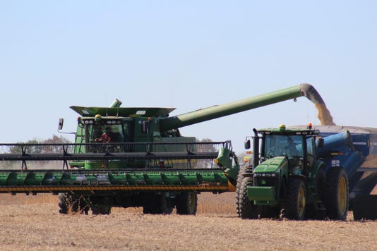 Emptying Soybeans 151 Town Of Waupun Copy