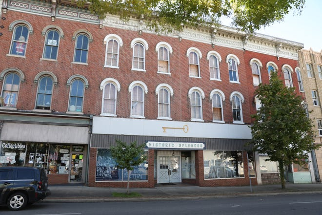 The City of Zanesville is weighing the options of either demolishing 606-608 Main Street, or preserving the structures.