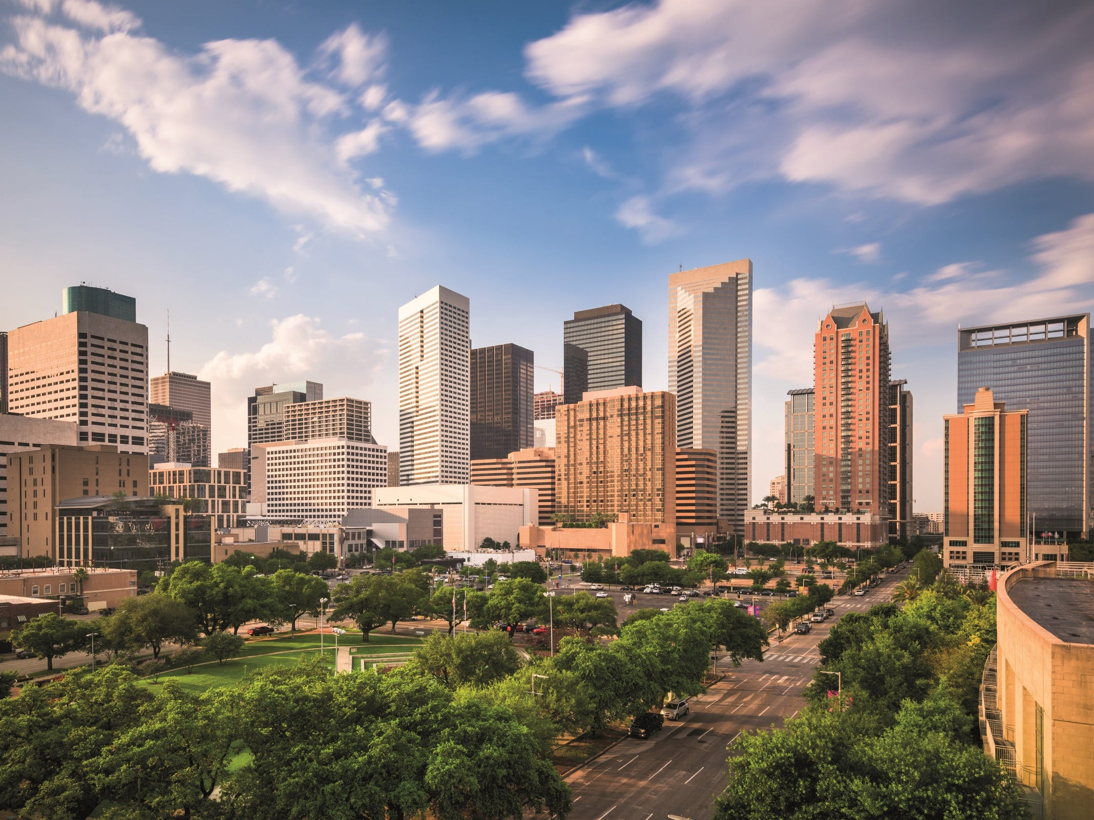 No. 5 on the list of best value places to visit in 2019 is Houston.