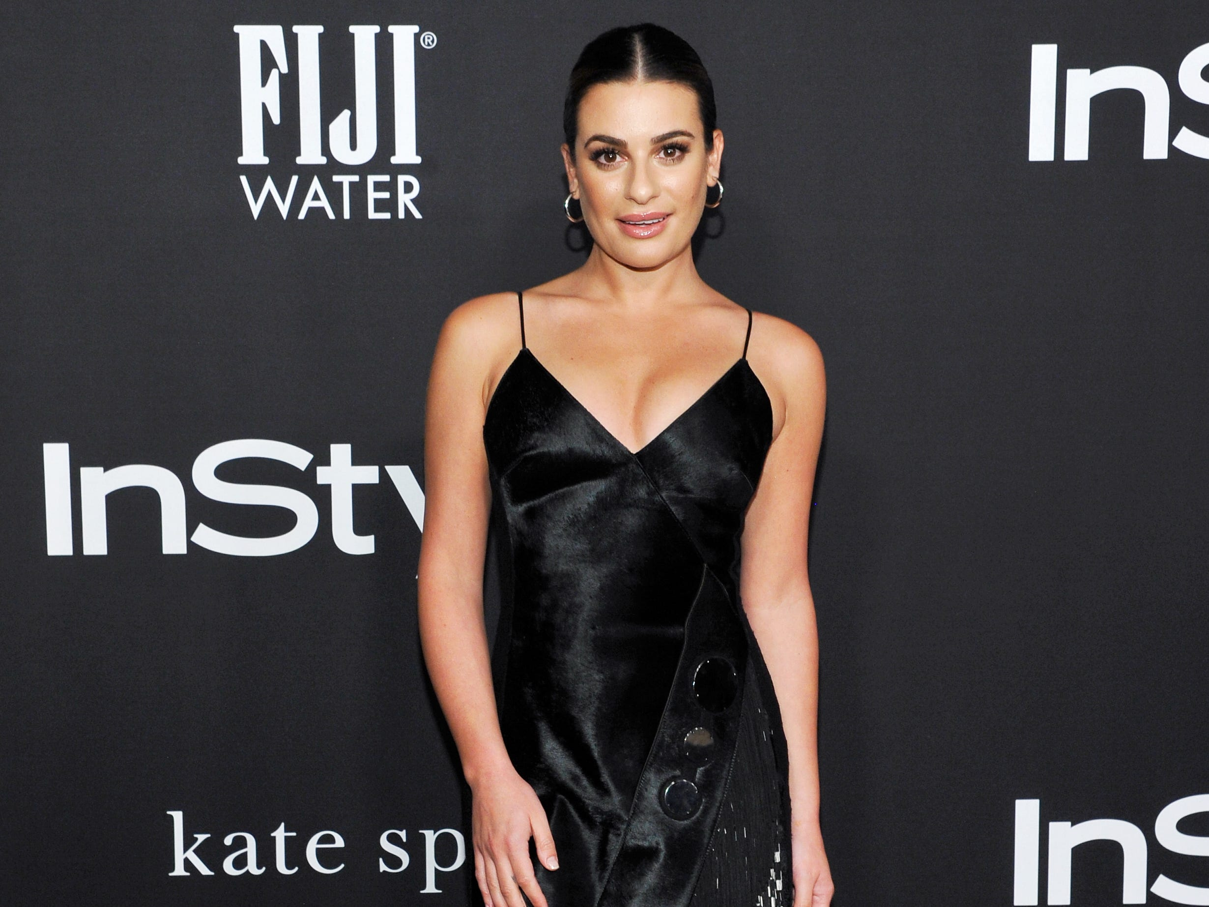 LOS ANGELES, CA - OCTOBER 22:  Lea Michele attends the 2018 InStyle Awards with Fiji Water on October 22, 2018 in Los Angeles, California.  (Photo by John Sciulli/Getty Images for FIJI Water) ORG XMIT: 775244144 ORIG FILE ID: 1052786024