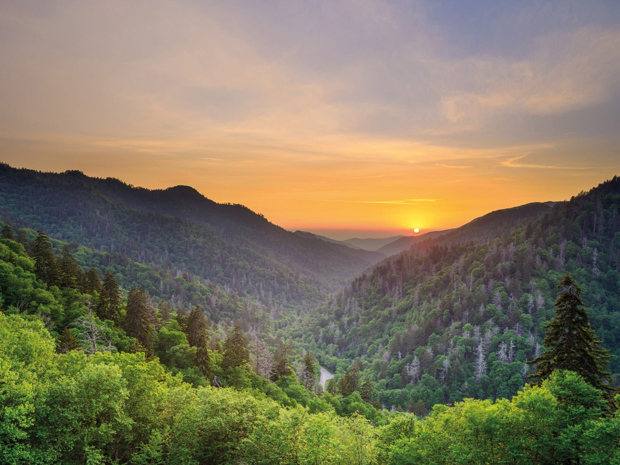 No. 3 on the list of best value places to visit in 2019 is Great Smoky Mountains National Park.