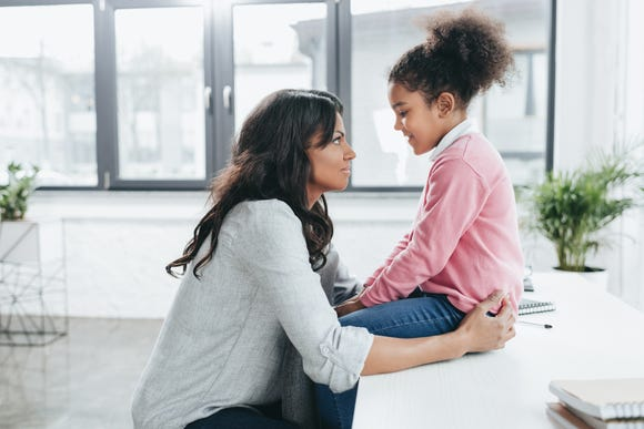 Parents who are divorced should be ready for tough questions from their kids. It's best to answer them clearly and as honestly as possible.