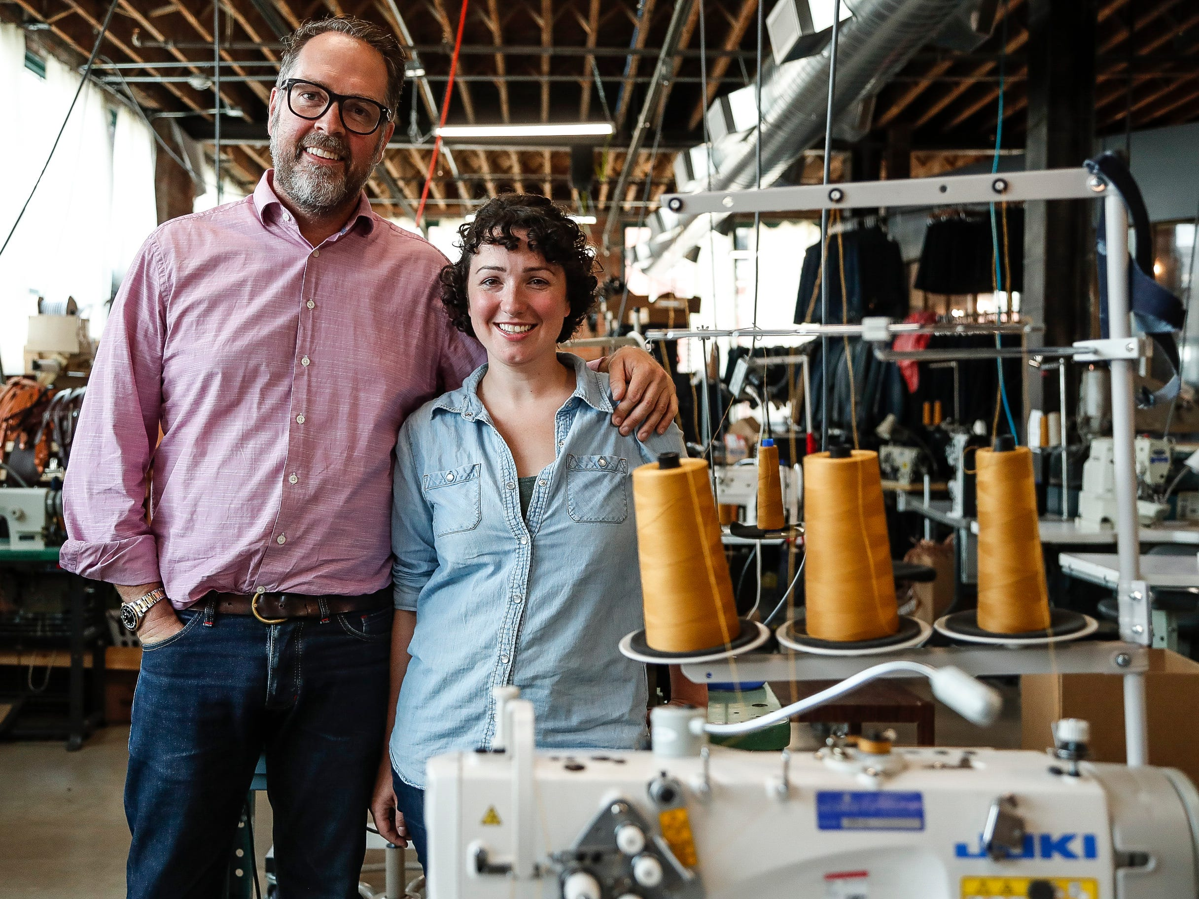 Detroit Denim: Entrepreneur's made-in-USA jeans business fits him well