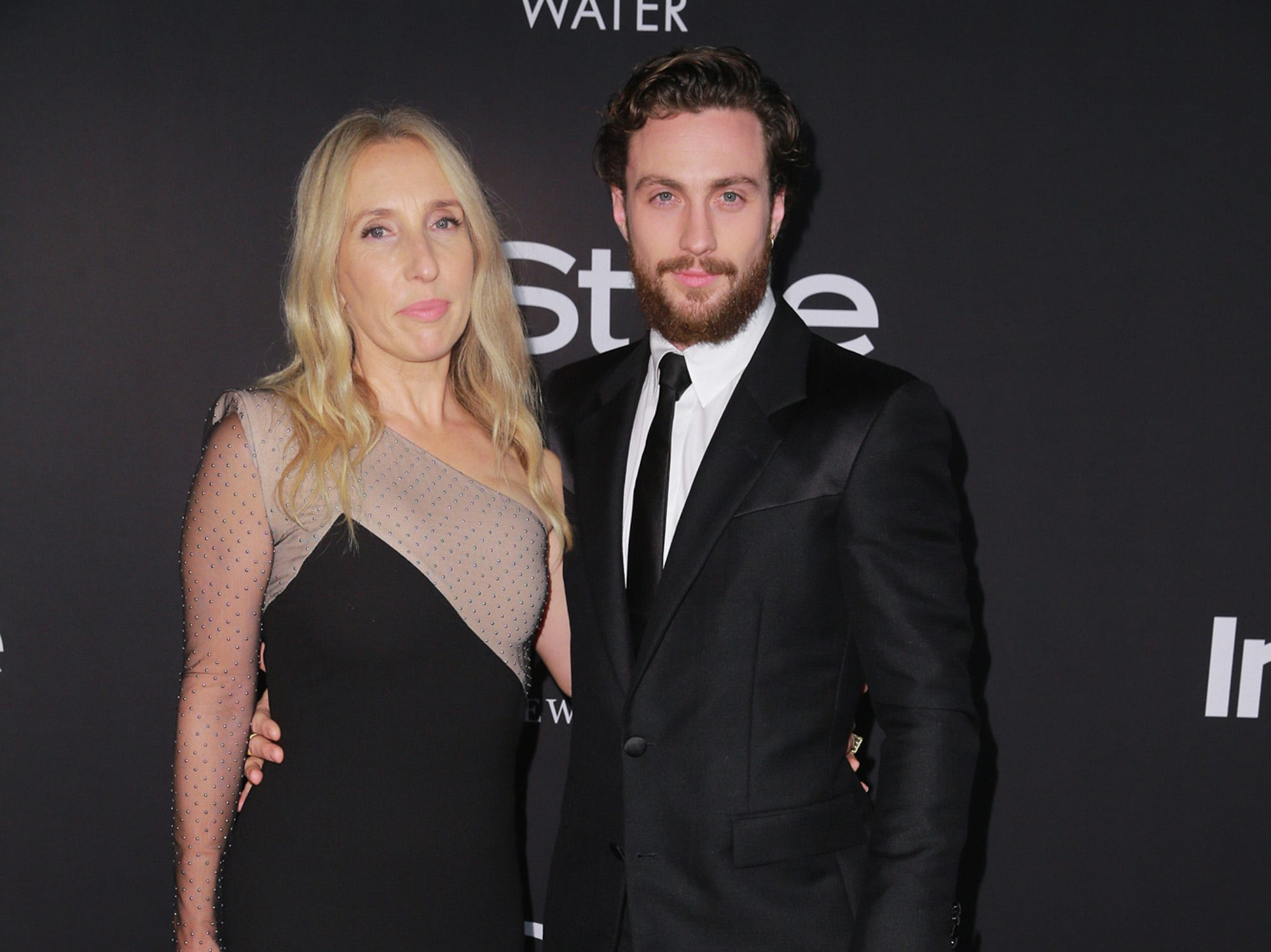 LOS ANGELES, CA - OCTOBER 22:  Sam Taylor-Johnson (L) and Aaron Taylor-Johnson attend the 2018 InStyle Awards at The Getty Center on October 22, 2018 in Los Angeles, California.  (Photo by Rich Fury/Getty Images) ORG XMIT: 775236597 ORIG FILE ID: 1052793762