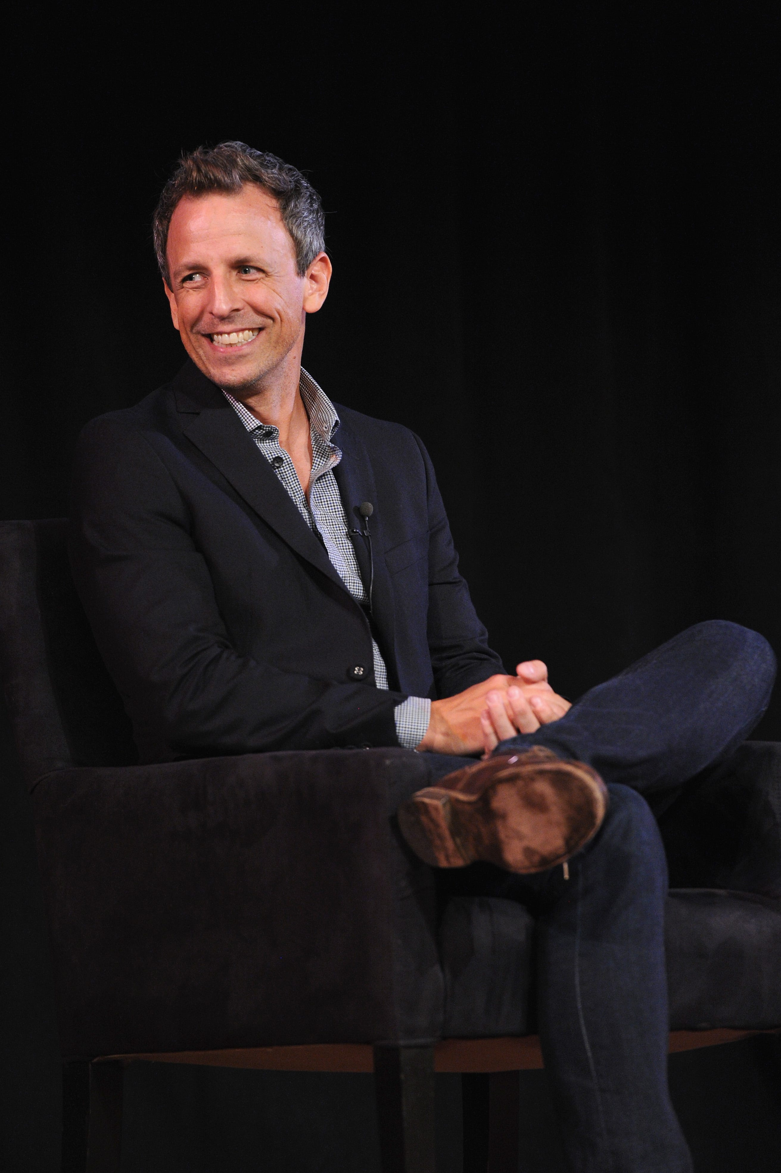 Seth Meyers: Donald Trump is the last person who should call anyone a 'husband from hell'