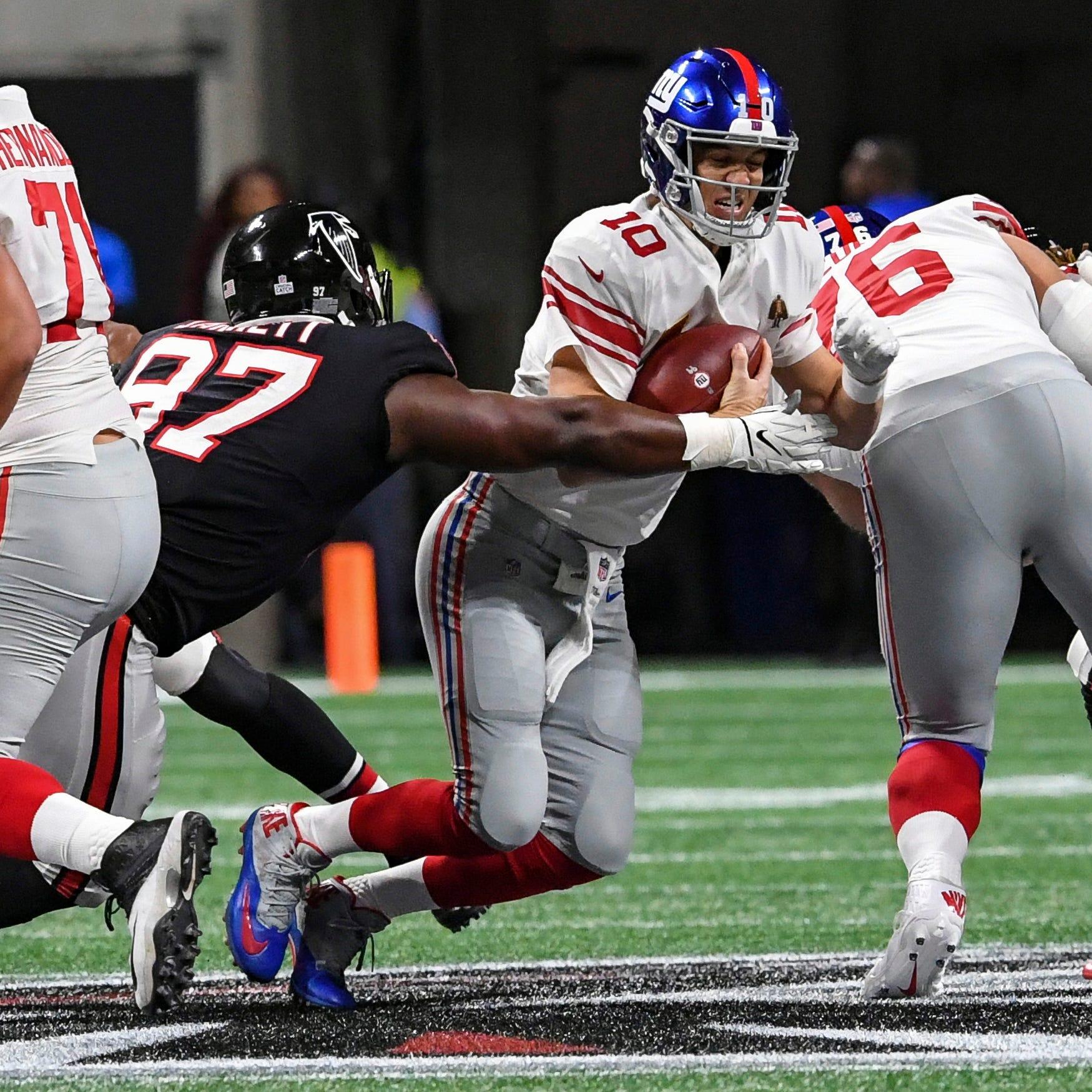 NY Giants vs. Atlanta Falcons: Too little, too late again as Big Blue comes up short