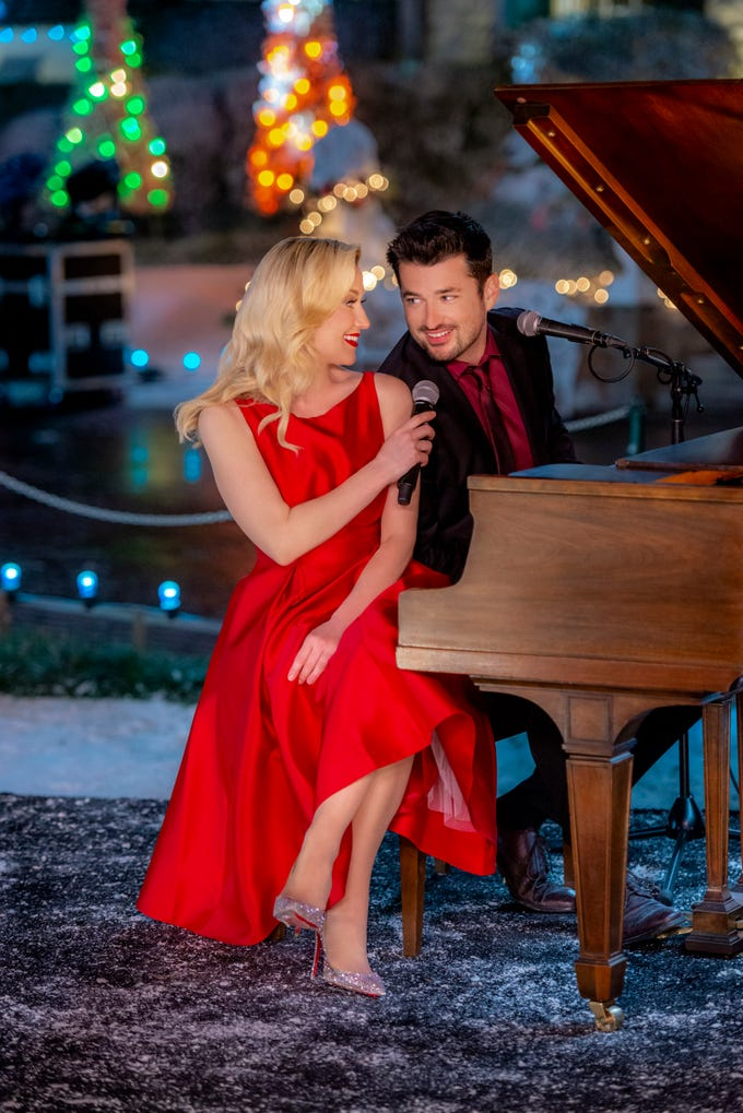 """What's Christmas without some holiday cheer? There's no better place on TV to find that cheer than the romantic Christmas movies, such as """"Christmas at Graceland"""" with Kellie Pickler and Wes Brown. Here are the best Christmas movies to add to your calendar this season."""