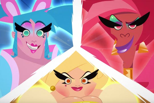 "In adult cartoon ""Super Drags,"" drag queens are superheroes."