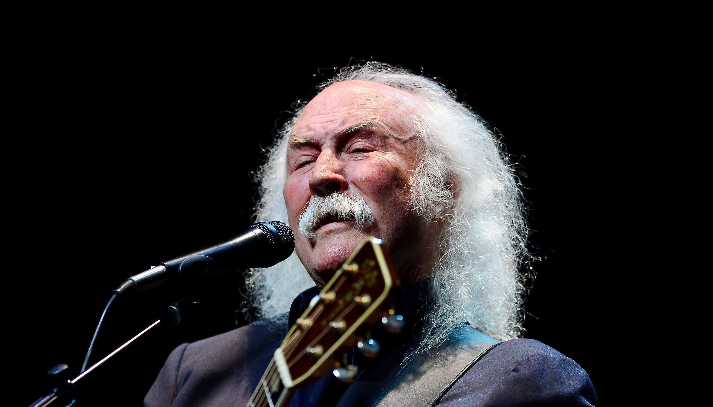 David Crosby performs at The Fillmore on June 9, 2015 in Miami Beach.