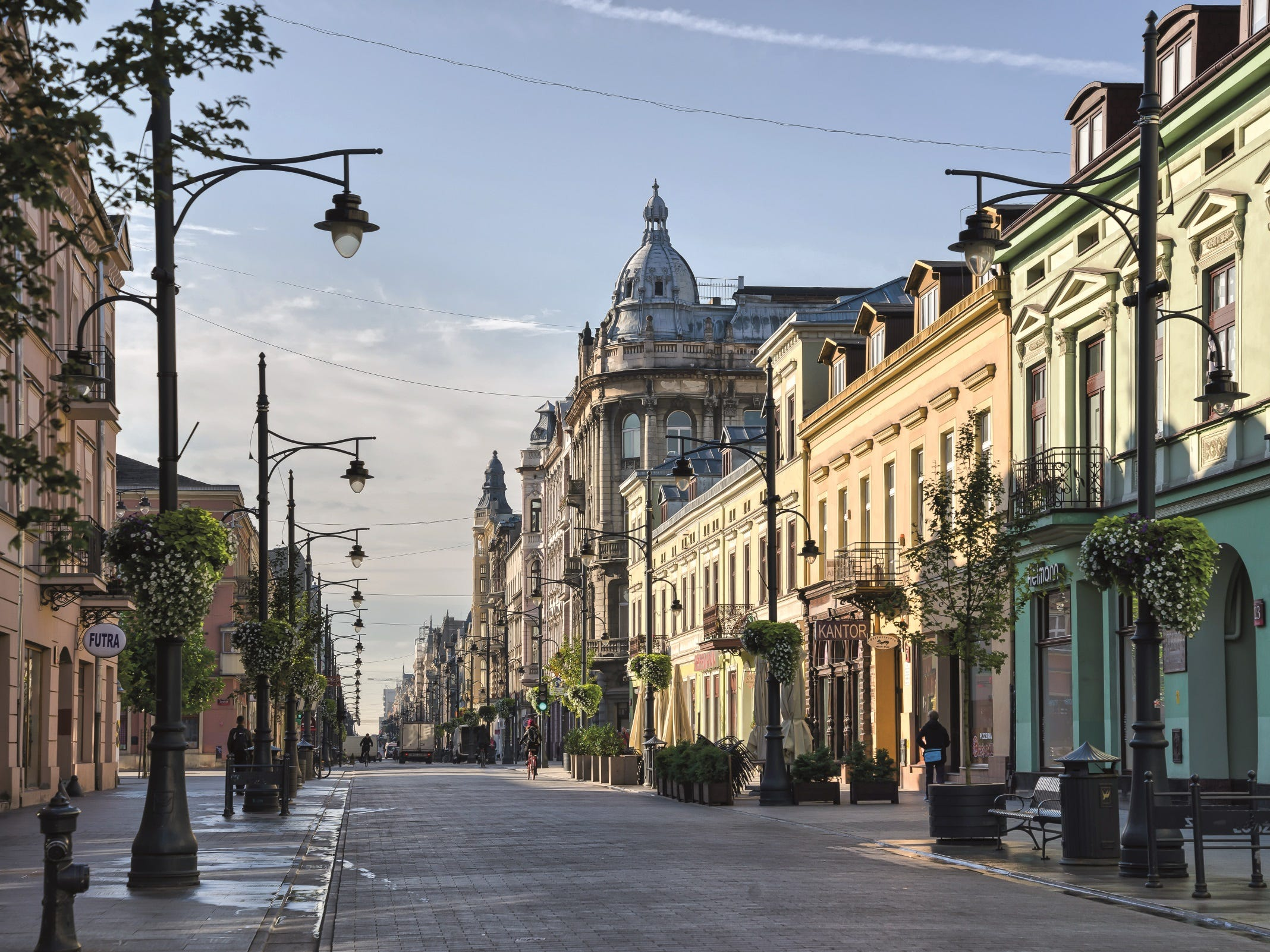 No. 2 on the list of best value places to visit in 2019 is Łódź, Poland.