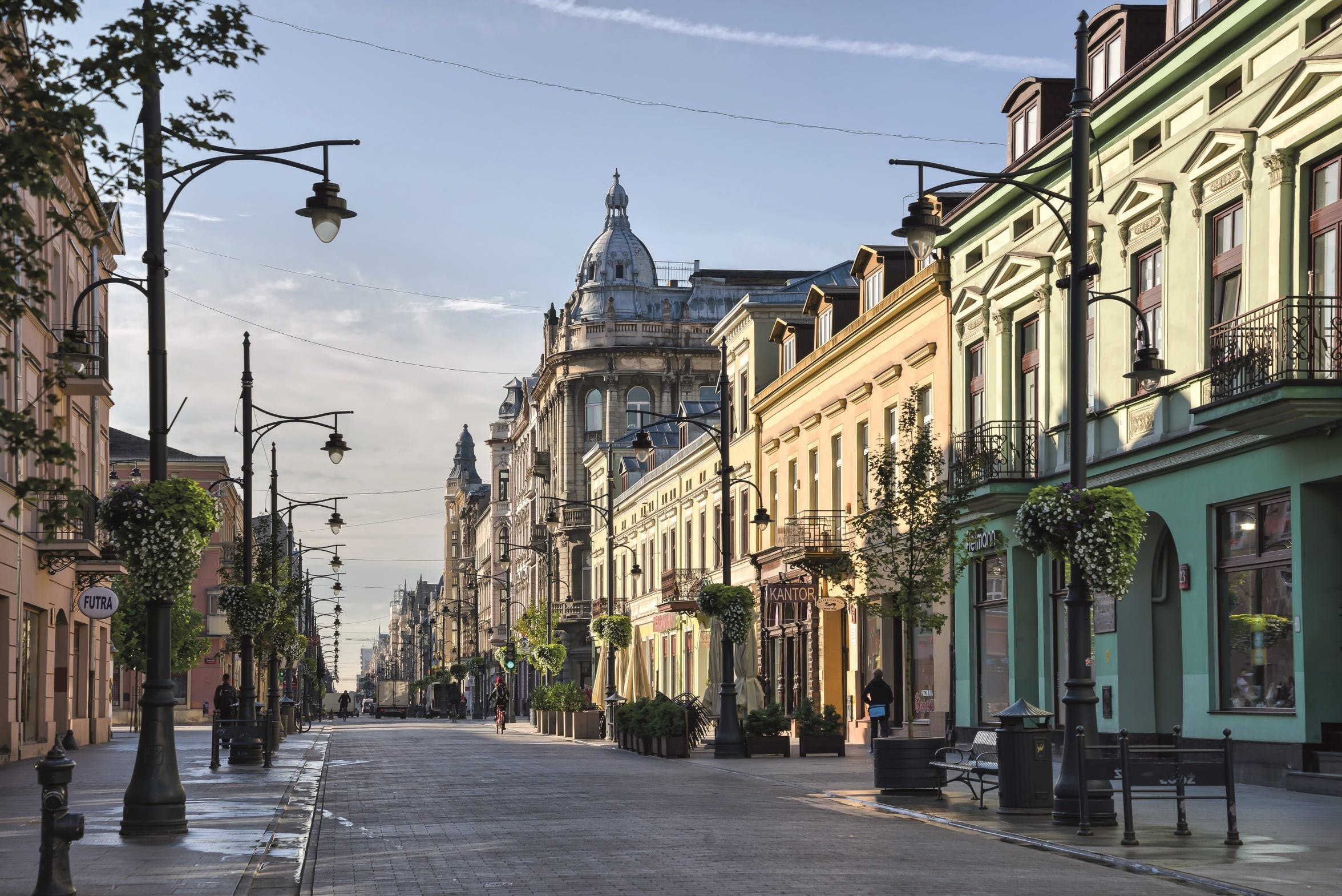 Today, Lodz is a popular tourist destination in Poland.