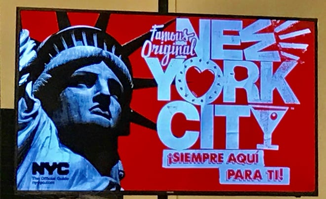 NYC & Company, New York City's official destination marketing organization, and Discover Puerto Rico have partnered in a campaign to promote tourism between the two destinations. These new ads will appear on bus stop shelters and LinkNYC screens across New York City.