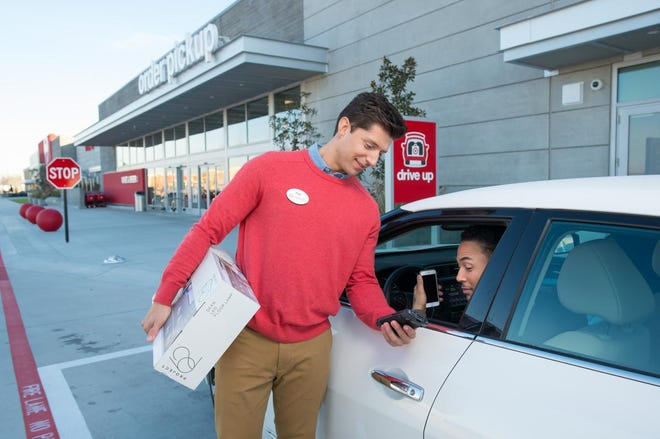 Drive up service will be available at roughly 1,000 Target locations this holiday season