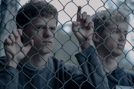 "Lucas Hedges (left, with Troye Sivan) plays an Arkansas teenager who's sent to gay conversion therapy by religious parents in ""Boy Erased."""