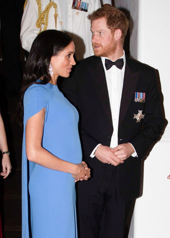 The best-dressed baby bump.
