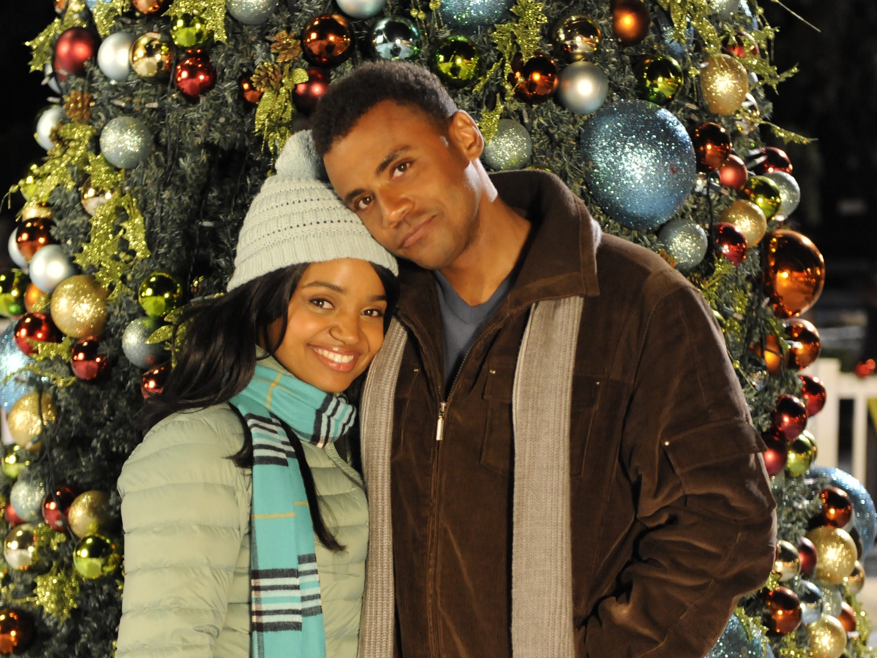 """""""The Christmas Pact"""" (Lifetime, Dec. 2, 8 EST/PST): Sadie (Kyla Pratt) and Ben (Jarod Joseph) are friends who try to stay committed to their Christmas traditions."""