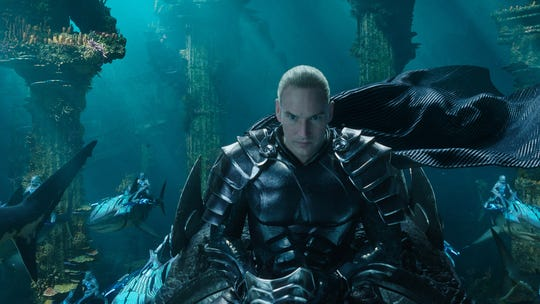 "Orm (Patrick Wilson), aka Ocean Master, is the ruthless king of Atlantis who plans an attack on the surface world in ""Aquaman."""