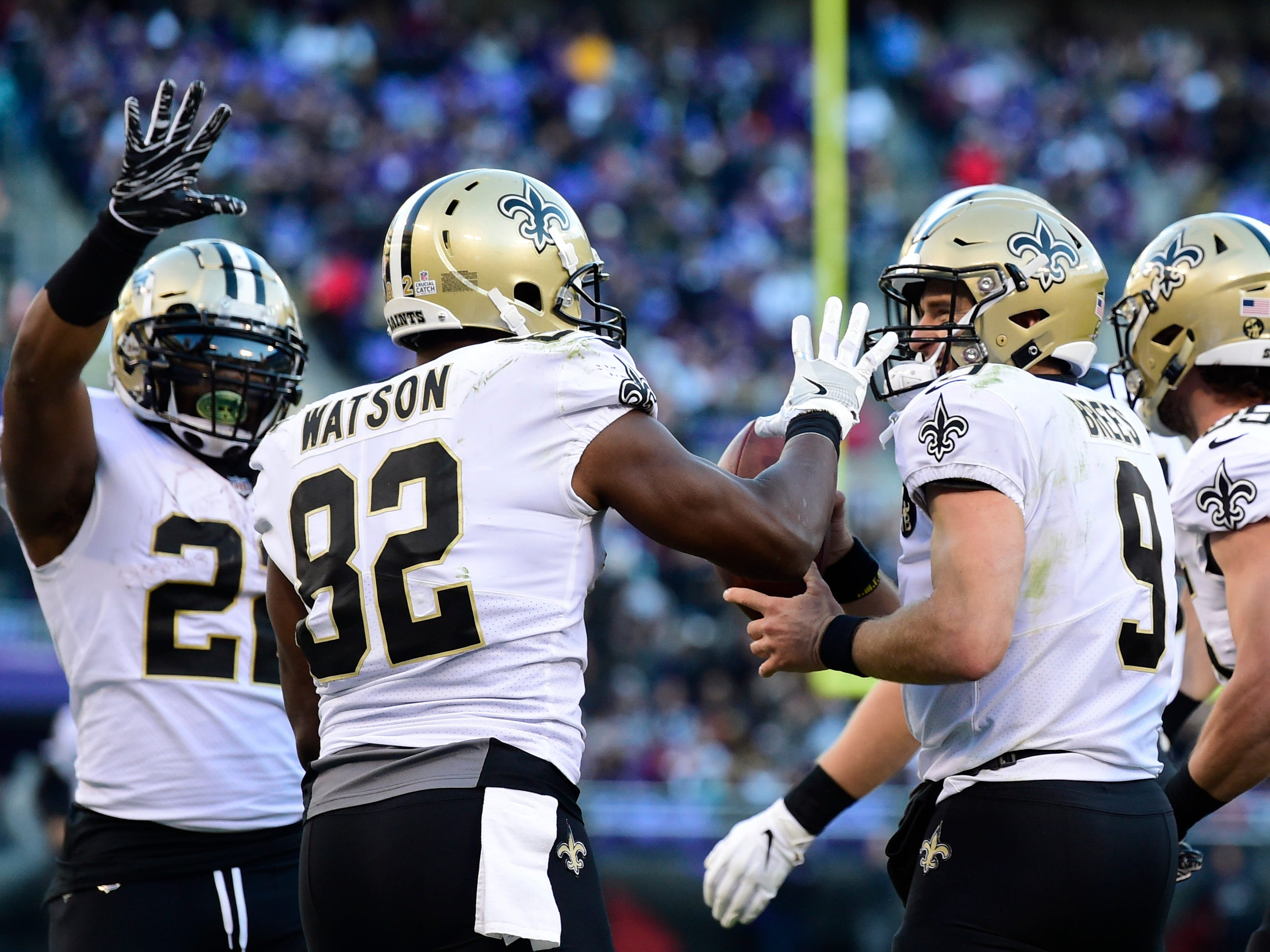 2. Saints (3): Secondary's ongoing struggles a little easier to stomach given no defense is stopping opposition running attacks more effectively.