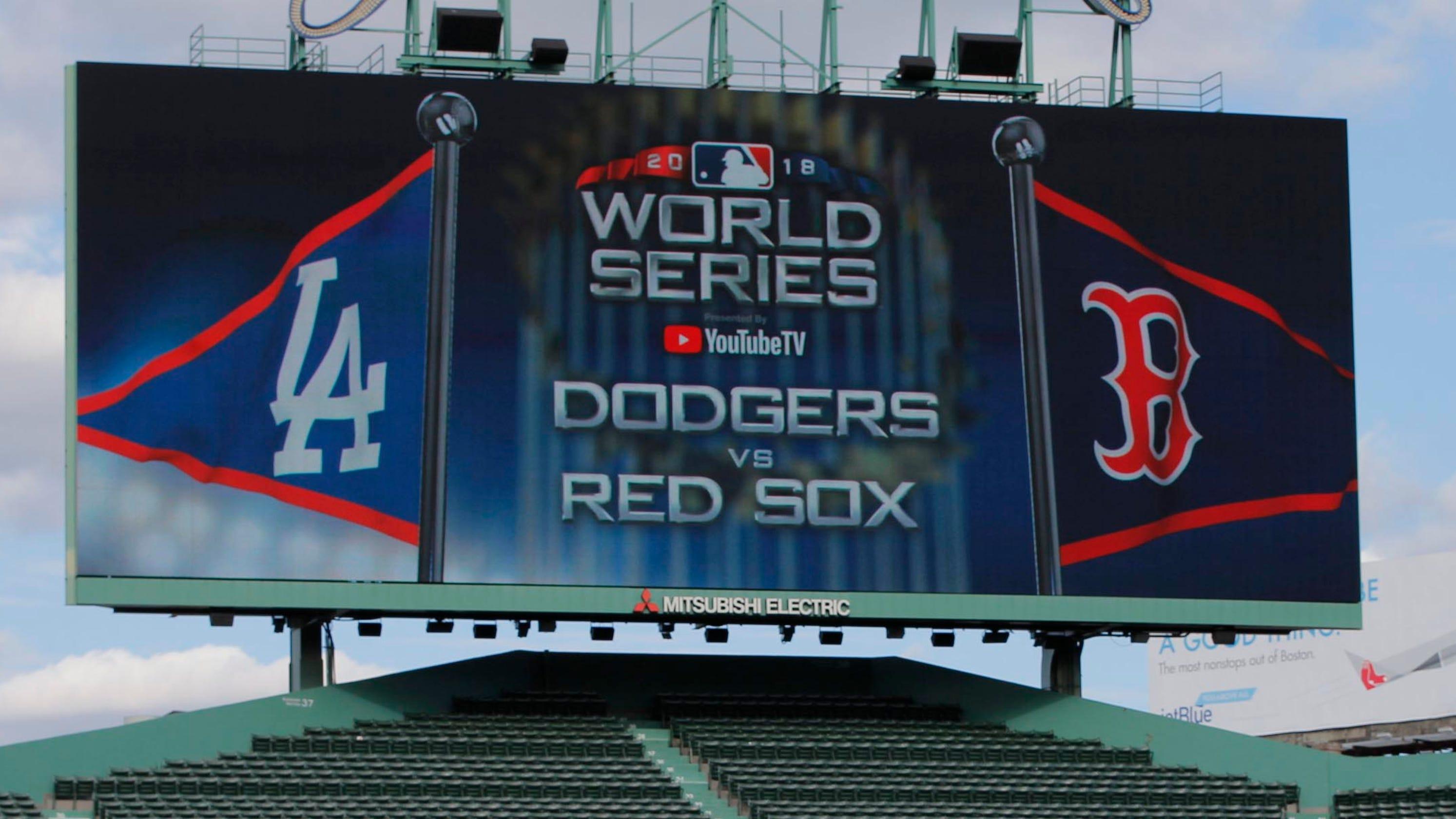 5612ef6afde 2018 World Series  Red Sox-Dodgers Game 1 time
